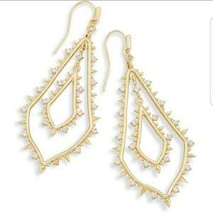Kendra Scott Alice earrings in gold